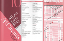 Art Circuits - Art Fair Map 2012