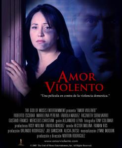 Amor Violento Poster