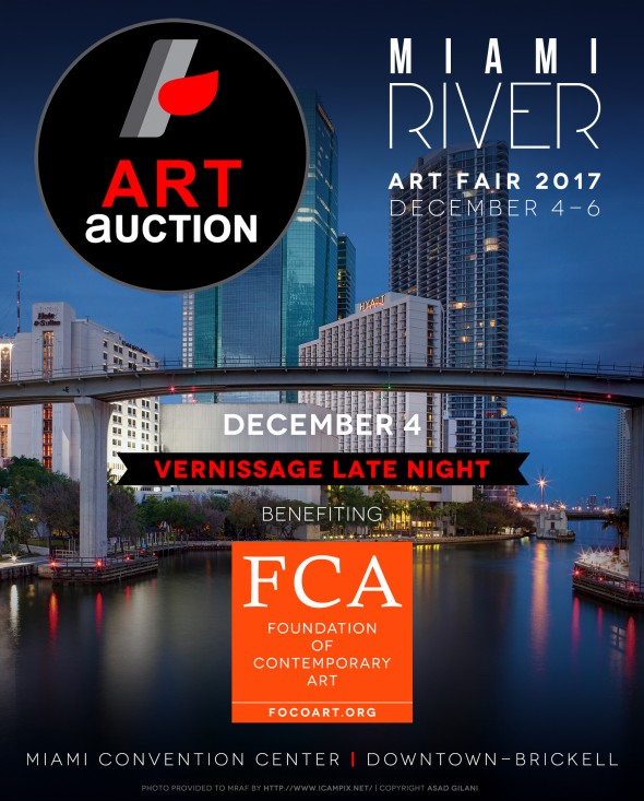 Art Auction AD for Digital Promo - MRAF 2017